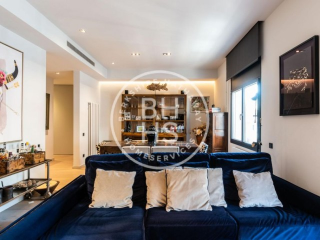150 sqm luxury flat for sale in Galvany, Barcelona